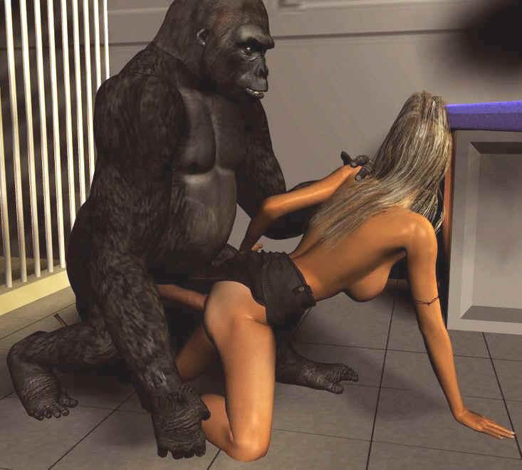 Wild gorilla fuck woman free photo download